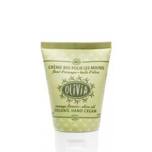 crema per le mani biologica con fiori d'arancio 50ml e olio d'oliva marius fabre tec-terreecolori calestano-parma