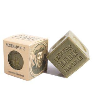 sapone di marsiglia con olio d'oliva collezione nostradamus 200gr marius fabre tec-terreecolori calestano-parma
