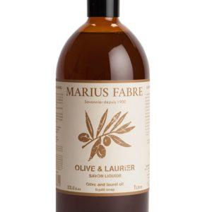 sapone liquido oliva e alloro 1000ml marius fabre tec-terreecolori