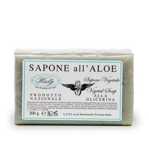 sapone vegetale aloe wally tec-terreecolori calestano-parma
