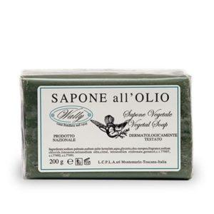 sapone vegetale all'olio d'oliva wally tec-terreecolori calestano-parma