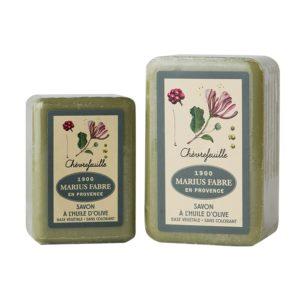 sapone all'olio d'oliva 150-250gr e caprifoglio marius fabre tec-terreecolori calestano-parma