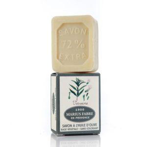 sapone all'olio d'oliva 40-gr e verbena marius fabre tec-terreecolori calestano-parma